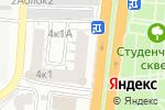 Схема проезда до компании Планета Бизнес в Астрахани