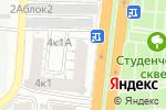 Схема проезда до компании Чаплин в Астрахани