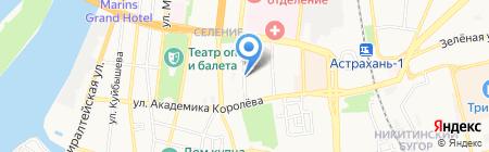 Спортивное братство на карте Астрахани