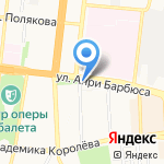 Уральский банк реконструкции и развития на карте Астрахани