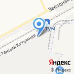 Астрой на карте Астрахани