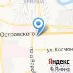 Управление Федеральной службы по надзору в сфере защиты прав потребителей и благополучия человека по Астраханской области на карте Астрахани