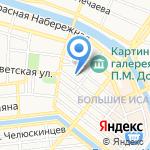Престиж-Финанс на карте Астрахани