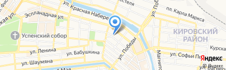 Министерство культуры и туризма Астраханской области на карте Астрахани