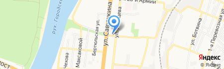 Киоск по продаже зоотоваров на карте Астрахани