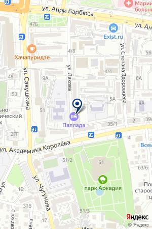 АНТЕЙ на карте Астрахани