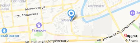 Рекламное агентство Андрея Чернышева на карте Астрахани