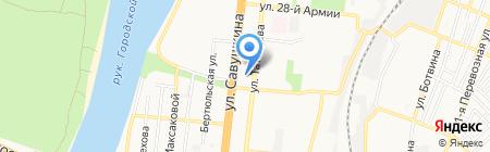 Энтузиаст на карте Астрахани