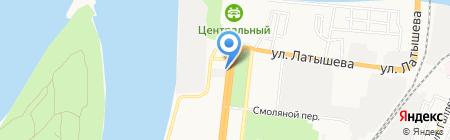 City Dogs на карте Астрахани
