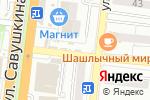 Схема проезда до компании Киоск по продаже цветов в Астрахани