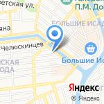 Детский сад №26 на карте Астрахани