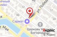Схема проезда до компании Анкер в Астрахани
