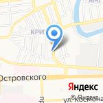 Персональ на карте Астрахани