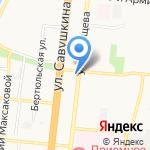 ПИВТОРГ на карте Астрахани