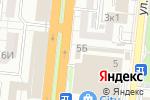 Схема проезда до компании Студенческий рай в Астрахани