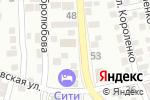 Схема проезда до компании Каменный двор в Астрахани