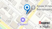 Компания Анкер на карте