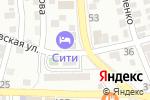 Схема проезда до компании Сударь в Астрахани