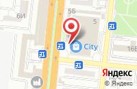 Схема проезда до компании MYBOX в Астрахани