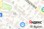 Схема проезда до компании Служба государственного технического надзора Астраханской области в Астрахани