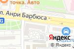 Схема проезда до компании КБ Ренессанс кредит в Астрахани
