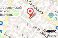 Схема проезда до компании ФКБ Петрокоммерц в Астрахани