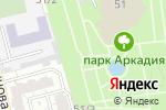 Схема проезда до компании Киоск по продаже сока и попкорна в Астрахани
