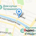 Тамара на карте Астрахани