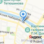 Управление ГИБДД Управления МВД России по Астраханской области на карте Астрахани
