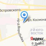 ОКУЛИСТ А на карте Астрахани