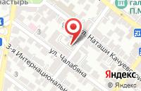 Схема проезда до компании Бухучет в Астрахани