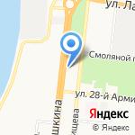 Астраханский государственный технический университет на карте Астрахани