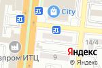Схема проезда до компании GaloFamily в Астрахани