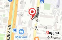 Схема проезда до компании Сталкер в Астрахани