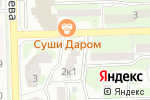 Схема проезда до компании ОКУЛИСТ А в Астрахани