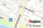 Схема проезда до компании Астробувь в Астрахани