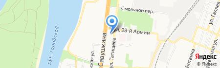 Шаурма Донар на карте Астрахани