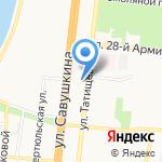 Victory school на карте Астрахани