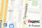 Схема проезда до компании Иномарка в Астрахани