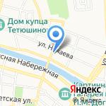 Астробувь на карте Астрахани