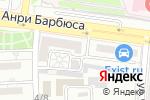 Схема проезда до компании ТехАCservice в Астрахани