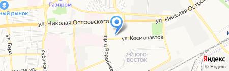 Креатив на карте Астрахани