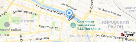 Реал-Рим на карте Астрахани