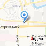 Зима-Лето на карте Астрахани