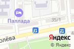 Схема проезда до компании Банкомат, Первомайский, ПАО в Астрахани