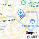 Арт-Юг на карте Астрахани