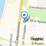 Мистер Шаурма на карте Астрахани