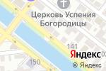 Схема проезда до компании Habez в Астрахани