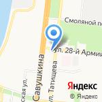 Алма-Люкс на карте Астрахани