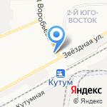 Детки на карте Астрахани
